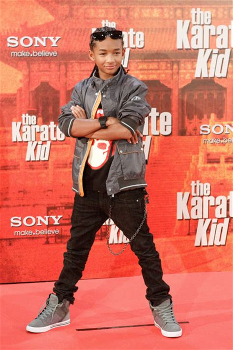 karate kid shoes jaden smith measurements height and weight