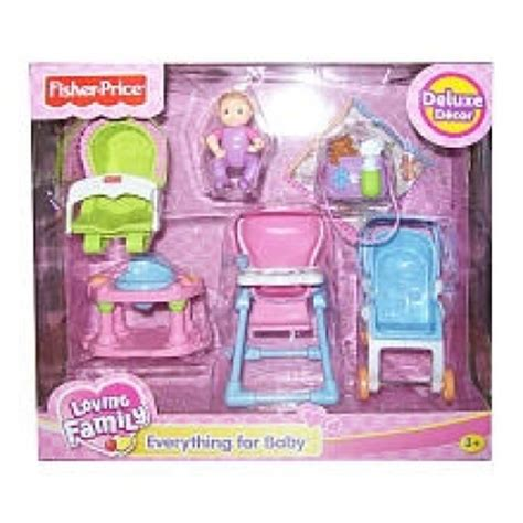 Fisher Price Loving Family Everything Fisher Price Loving Family Dollhouse Furniture Set