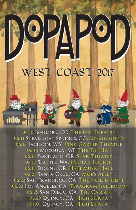 the gauntlet warbringer kick off west coast run with dopapod announce west coast tour