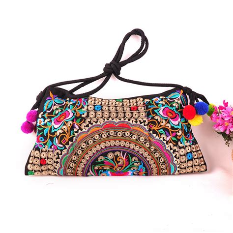 embroidered bag embroidery bag national trend new embroidered floral