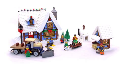 winter cottage lego winter cottage lego set 10229 1 building sets