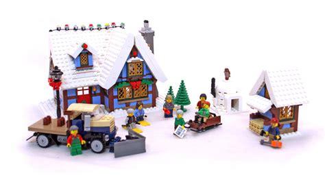 lego winter cottage winter cottage lego set 10229 1 building sets