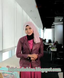 tutorial pashmina untuk ke kantor tutorial hijab untuk ke kantor yang elegan tutorial hijab