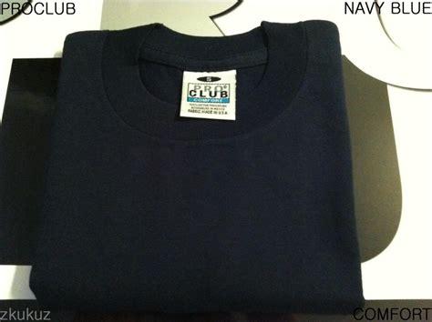 1 New Proclub Comfort Plain T Shirt Blank Color Tee Pro