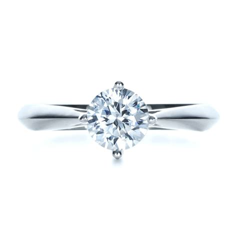 classic solitaire engagement ring 1398