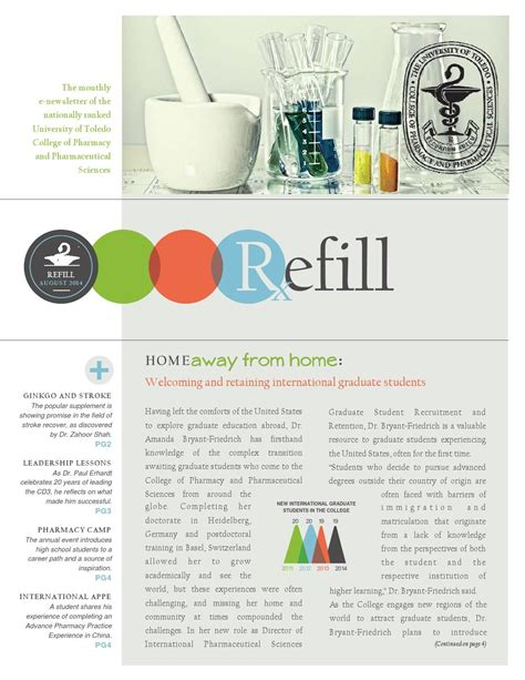 august refill newsletter newsletter layout email