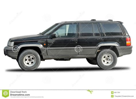 old jeep grand cherokee old jeep cherokee 4x4 stock image image 6811791