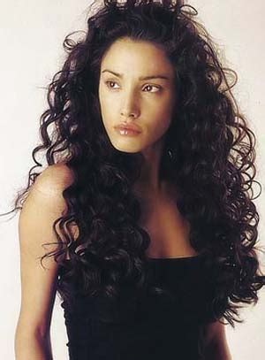 black hairstyles for wet and wavy hair hair style for long curly hair black