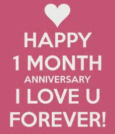 Month anniversary poems quotes