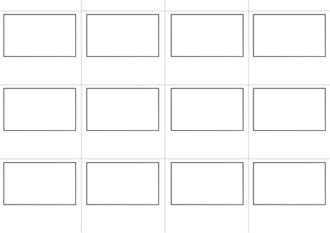 board template story board template by spenelo on deviantart