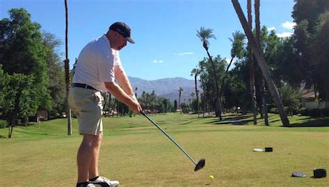 swing path out to in golf swing lesson with mark crossfield golf tips