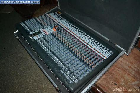 Mixer Xl 3200 mixer behringer xenyx xl 3200 c fonte interna r 7 000