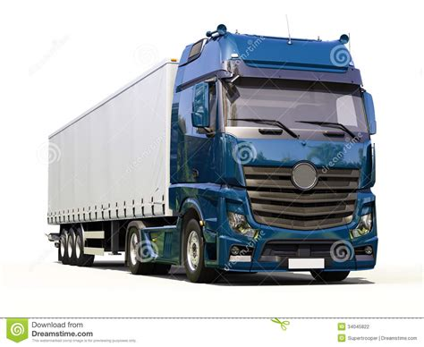 semi trailer truck semi trailer truck stock photo image of load goods