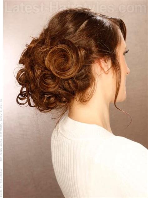 midway part hair updos 13 super hot prom updos for long hair