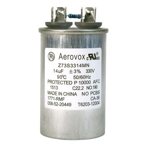 capacitor for hid ballasts hid lighting capacitor 330vac aerovox z73s3314mn