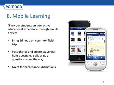 edmodo mobile site 20 ways to use edmodo