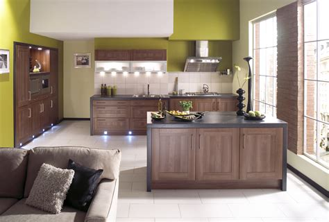 walnut kitchen ideas shaker walnut kitchen design stylehomes net