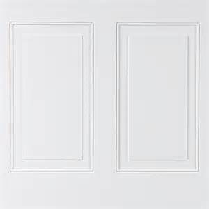 Easy Wainscoting Panels Shop Walldesign Walldesign 48 In X 2 66 Ft Recessed White