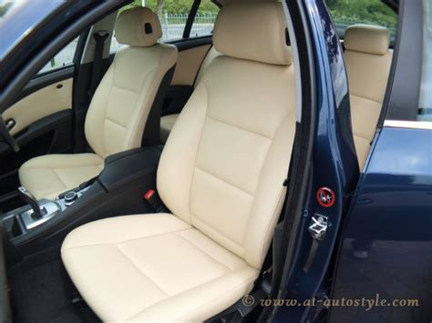 bmw leather upholstery bmw 5 series e60 leather interior a t autostyle