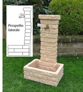fontana in pietra da giardino bonfante fontana fontanella da giardino pietra ricostruita