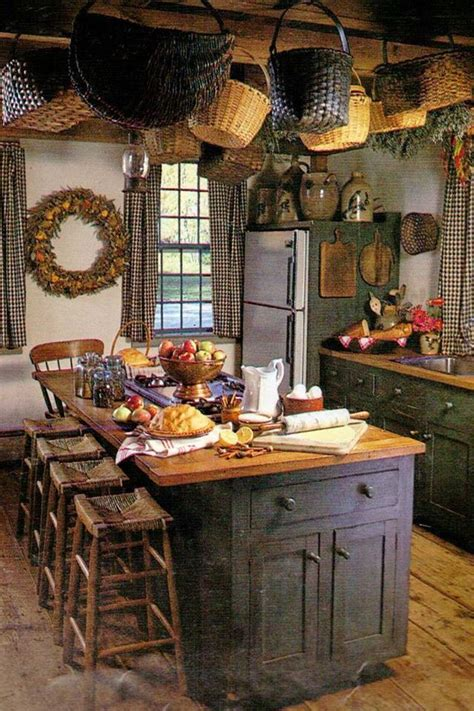 country kitchen island kitchens i like pinterest country kitchen quite prim pinterest