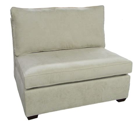 Chair Sofa Sleeper Sectional Armless Single Sleeper Sofa Carolina Chair