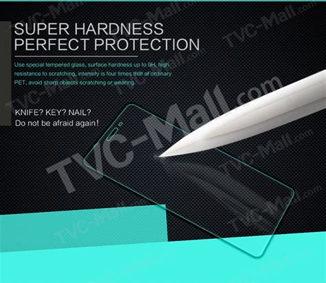 Tempered Glass Nero For Oppo All Type nillkin amazing h tempered glass screen protector for oppo