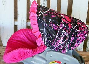 muddy pink camo seat covers muddy camo and pink minky infant car seat cover