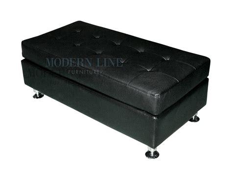 modern leather ottoman new standard ottoman modern modern line furniture commercial furniture custom made
