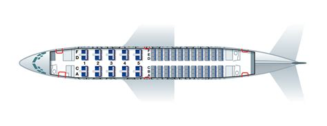 Cabin Floorplan by Boeing 737 700 For Lufthansa 20c 66y Privatair