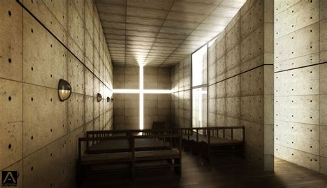 light of church cgarchitect professional 3d architectural visualization