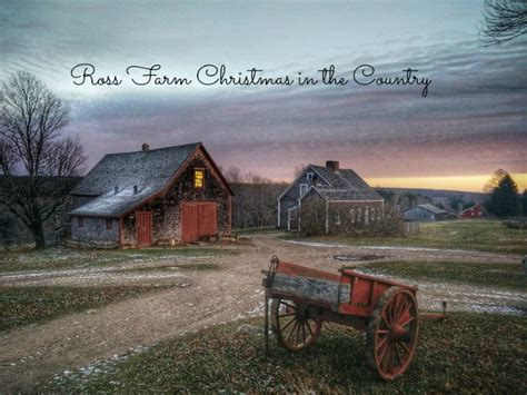 images of christmas in the country ross farm christmas in the country family fun halifax