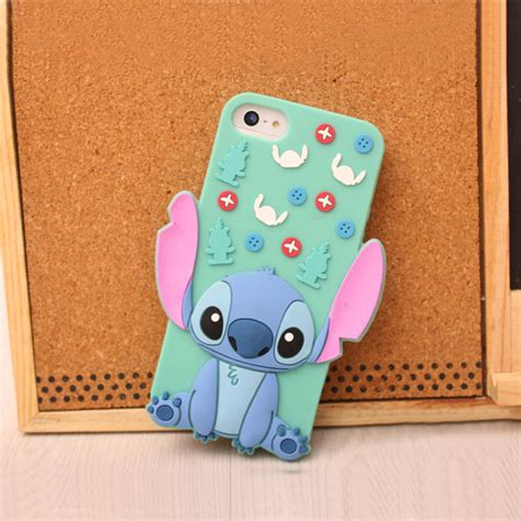 Casing Iphone 55s Stitch Silicon 20 3d stitch silicone for iphone 5 5s hokkoh