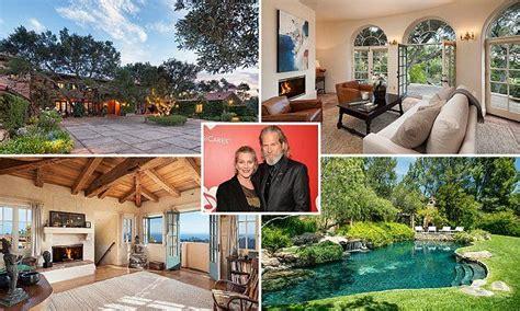 jeff bridges house jeff bridges lists his montecito villa for 29 5million