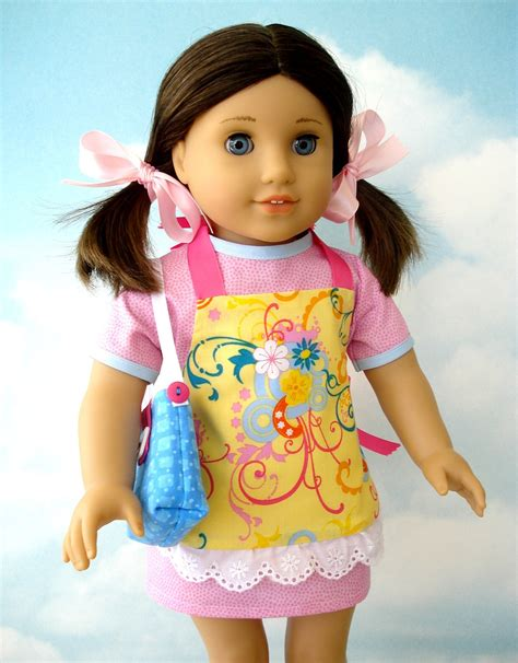 shirt pattern for american girl doll 18 inch american girl doll clothes sewing pattern dress