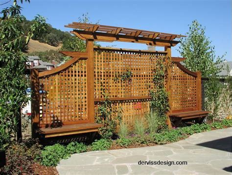outdoor trellis privacy screen trellis screens arbors posted by deviant deziner return to