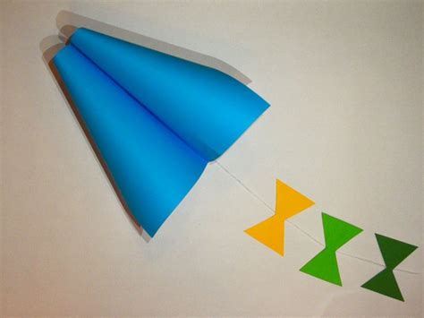 Kites Out Of Paper - how to make a simple kite out of paper