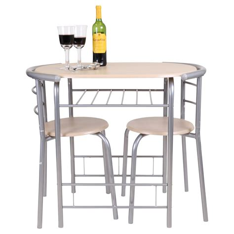 dining table set for 2 chairs 3 piece kitchen room furniture dinette and new ebay chicago 3 piece dining table and 2 chair set breakfast
