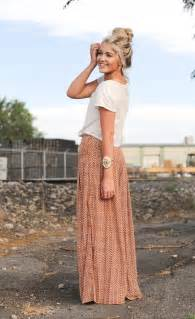 Galerry casual maxi skirt looks