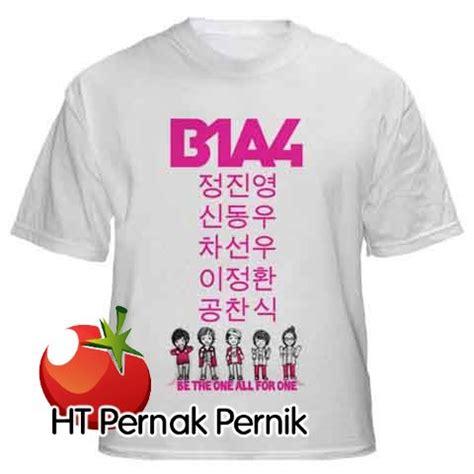 Kaos Nuest Korea Kpop kaos b1a4 jual baju korea dan hanbok