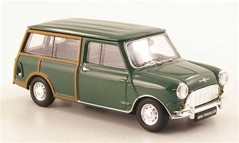 Diecast Miniatur Mobil Morris Mini Cooper 1275s Mk 1 Mokit Green mini morris morris traveller green rhd 1960 ebbro
