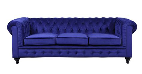 scroll arm tufted button chesterfield style sofa navy velvet chesterfield tufted button scroll arm