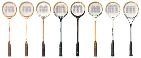 Raket Squash squash racquets through the years allsquash