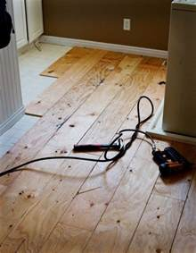 diy plywood flooring diy