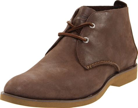 sperry boots mens sperry top sider mens boat desert boot in brown for