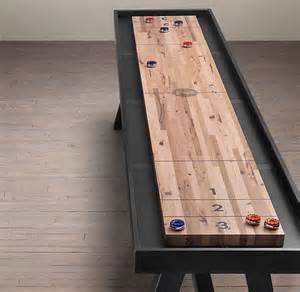 How To Make A Shuffleboard Table 91 Best Images About Houspiration Game Room On Pinterest