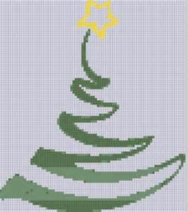 christmas tree 2 cross stitch pattern by motherbeedesigns