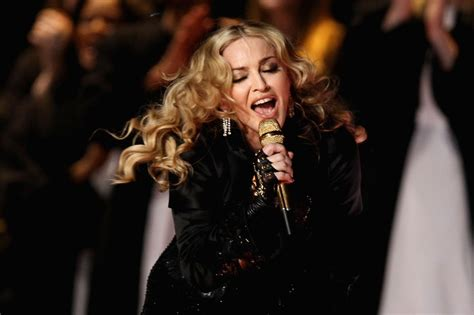Madonnas Televised Appearance madonna live at the bowl halftime show pictures