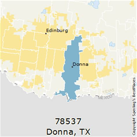 donna map best places to live in donna zip 78537