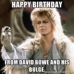 David Bowie Labyrinth Meme - david bowie birthday wishes google zoeken bowie
